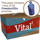 Vital5 Pak with Freedom2Go-Month Supply