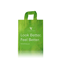 Large Green Shopping Bag