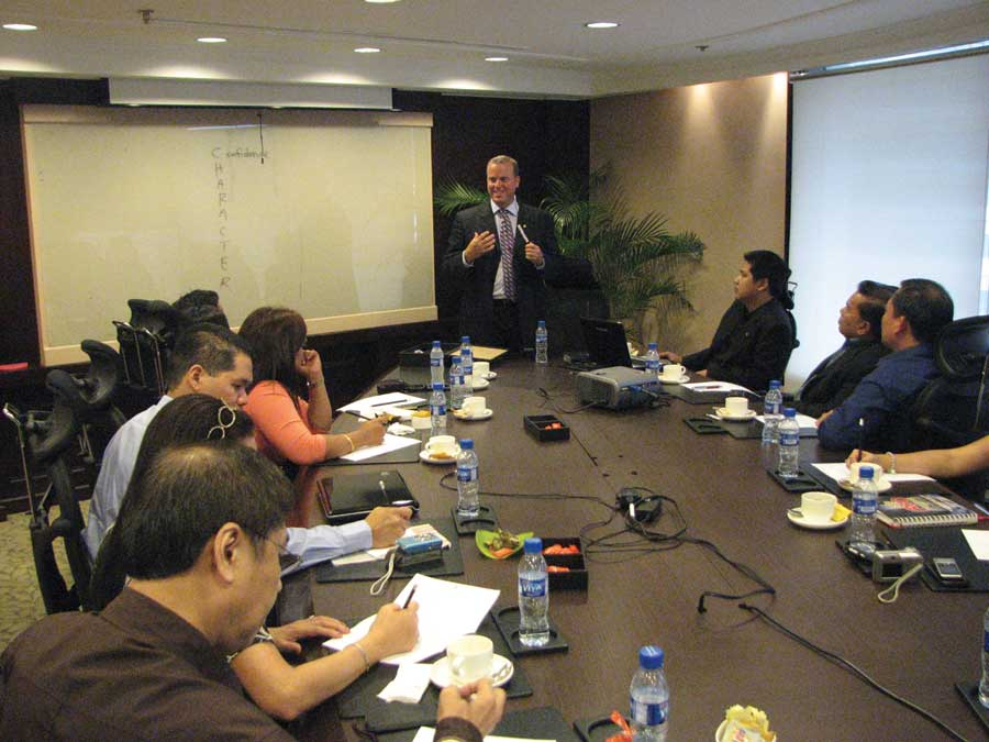 Forever Living opportunity meeting.