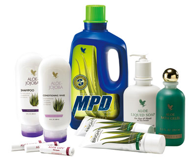Aloe Vera personal care section