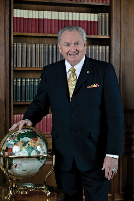 Rex Maughan, CEO of Forever Living Products