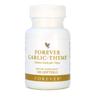 Forever Garlic Thyme. Benefits of Forever Garlic Thyme. 065 large nutritional aloe vera