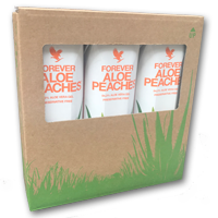 7773 Forever Aloe peaches Tri-Pack