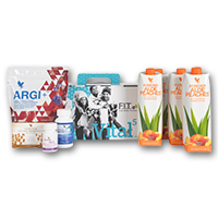 Vital5 Box Forever Aloe Bits n' Peaches FR
